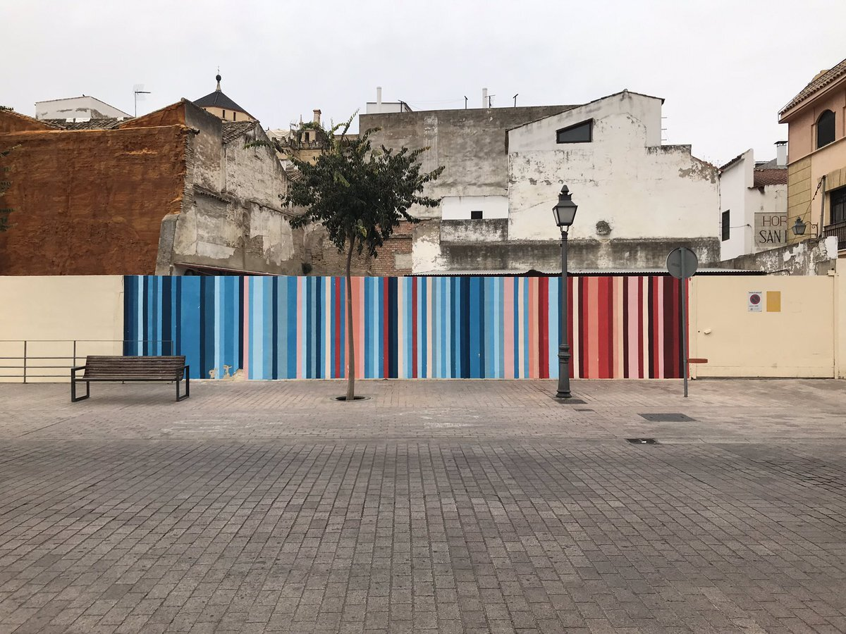 Wall in Córdoba, Spain