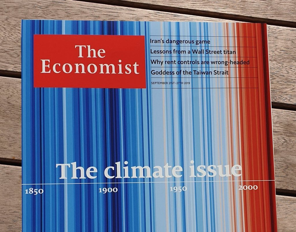 A cover of The Economist from September 2019